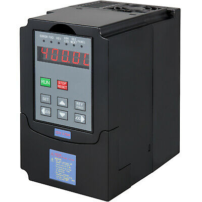 1HP 0.75KW Variable Frequency Drive VFD Inverter Single Phase 220V 4A NEWEST