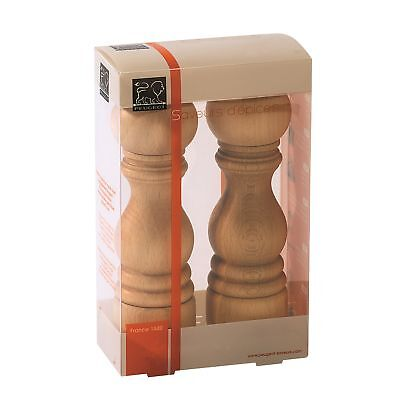 PEUGEOT Pfeffermühle Salzmühle PARIS Duo Set 18 cm USelect natur