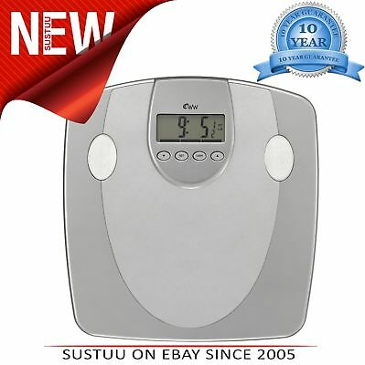 Weight Watchers Körper Analiser Waage│33mm Anzeige│5 Fitness Level│10 Benutzer