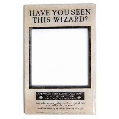 HARRY POTTER HAVE You Seen This Wizard? Magnetic Photo Frame NEW ...