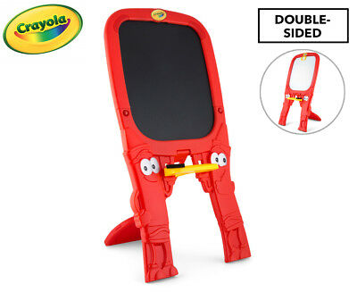 Crayola Qwikflip Double Sided Easel - Red