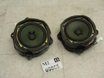 2004 05 06 2007 08 2009 CADILLAC SRX Left Right Front Door Audio Speaker 2 SET