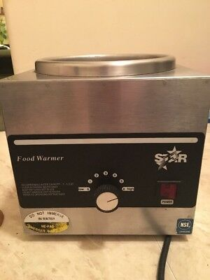 Commercial NSF Star Food Warmer-Nacho Cheese Lighted / Base Model 3W LA-4H