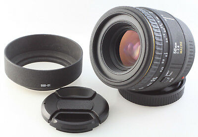 Sigma EX 50mm f2.8 Macro 1:1 Lens, for Minolta AF and Sony A mount cameras