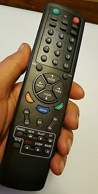 universal remote 6 in 1 controls 6 devices TV set DVD cable VCR audio NEW