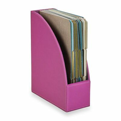Levenger Textura File Holder-Magenta