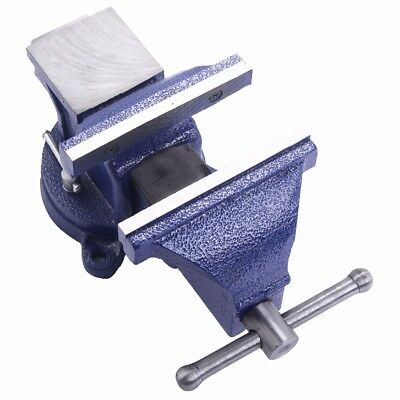 "6"" Mechanic Bench Vise Table Top Clamp Press Locking Swivel Base Heavy Duty New"