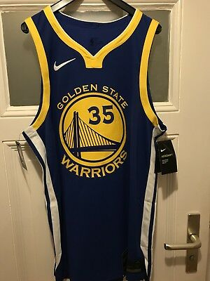 Nike AeroSwift NBA Golden State Warriors Authentic KD #35 Durant Jersey UVP 180€