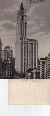 AK New York City - The Woolworth Building,  ungel. um 1925