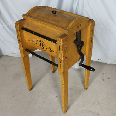 Unique and Unusual Floor Model Wooden Antique Butter Churn – The Blanchard Churn