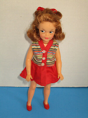 Vintage 1960's Ideal Tammy Family Pos'n Pepper Doll w/ Orig. Outfit