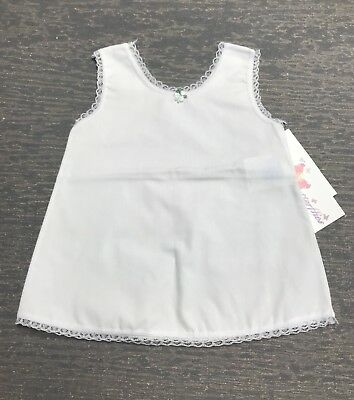 Infant 3/6 Months A-Line Cotton Blend Dress Slip NWT !
