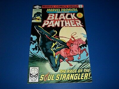 Marvel Premiere #53 Bronze Age Black Panther VF/VF+ Beauty Wow