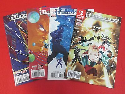 The Ultimates 2 Lot #1-4 All First Print Marvel 2017 Nm/m