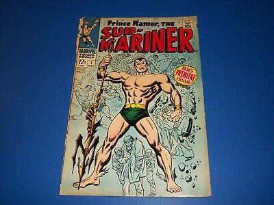 Sub-Mariner #1 Silver Age 1st Issue Huge Key Wow Restapled