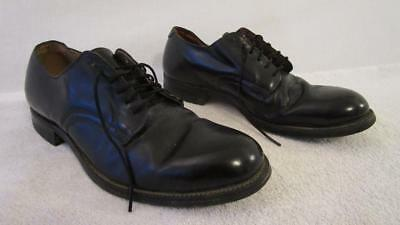 Vintage 60's International Shoe Co Military Service Naval Deck Utility Shoes 6.5