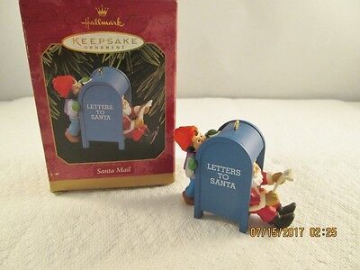 "1997 Hallmark ""santa Mail"" Christmas Keepsake Ornament"