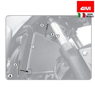 Givi Pr1146 Protection Specification Radiator Honda 750 Nc X 2016-2017