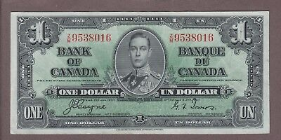 1937 $1 Dollar Coyne Towers - Prefix Z/M - Bank of Canada - D618