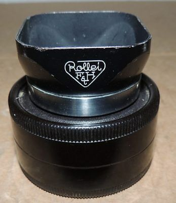 Rollei Hood Bay I Metal  for Rolleiflex TLR Camera with Case Lens