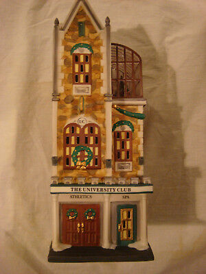 "DEPT. 56  CIC  ""The University Club""  #58945  Retired"