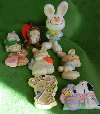 Vintage Hallmark Merry Miniatures & lapel pins, Valentine's Day, Easter, 1975 +