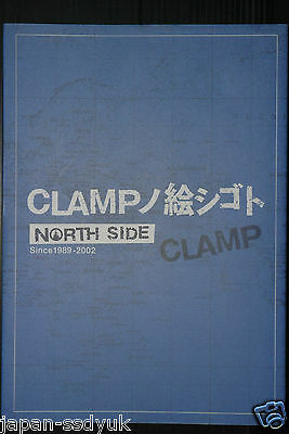 JAPAN CLAMP Art Works North Side Since 1989-2002 (Art Book)