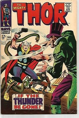 The Mighty THOR #146    KILLER Comic     FN/VF7.0