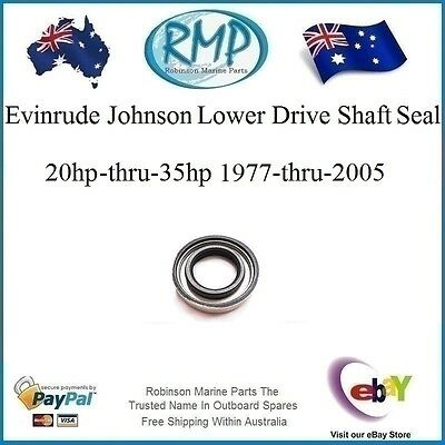 Evinrude Johnson Lower Drive Shaft Oil Seal 20hp-35hp 1977-thru-2005 # 321928