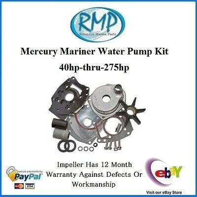 A Brand New Mercury Mariner Water Pump Kit 40hp-thru-225hp # 46-43024A7