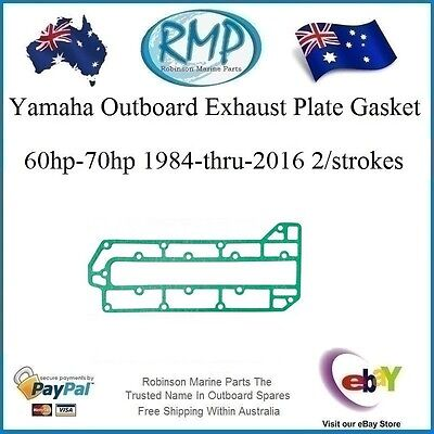 A Yamaha Outboard Outer Side Plate Gasket  60hp-70hp 1984-2013 # 6H3-41114-A0-00