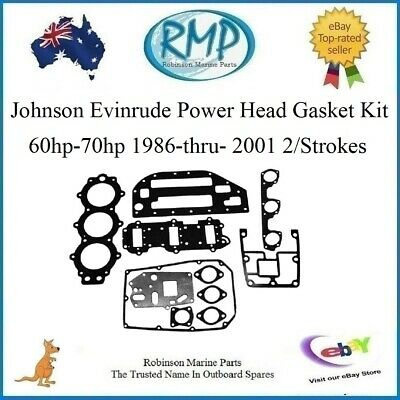 A Brand New Evinrude Johnson P/Head Gasket Kit 60hp-70hp 1986-2001 # 398047