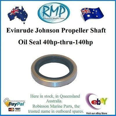 Evinrude Johnson Propeller Shaft Oil Seal 40hp-140hp 2 / 3 / 4cyl  # 330137