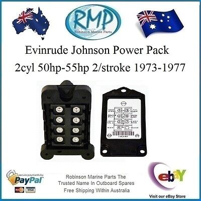 A Brand New Evinrude Johnson Power Pack 2cyl 50hp-55hp 1973-1977 # 581397
