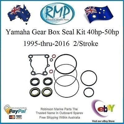 A Brand New Yamaha Gear Box Seal Kit 40hp-50hp 1995-2016 2/Stroke # 63D-W0001-21