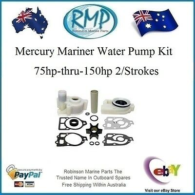 A Brand New Mercury Mariner Outboard Water Pump Kit 75hp-thru-150hp # 46-73804A3
