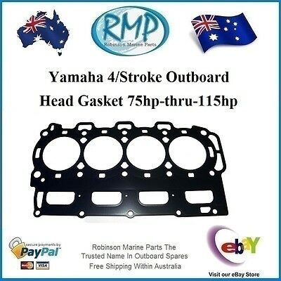 A Brand New Head Gasket Suits Yamaha 4/Stroke 75hp-thru-115hp # 67F-11181-02