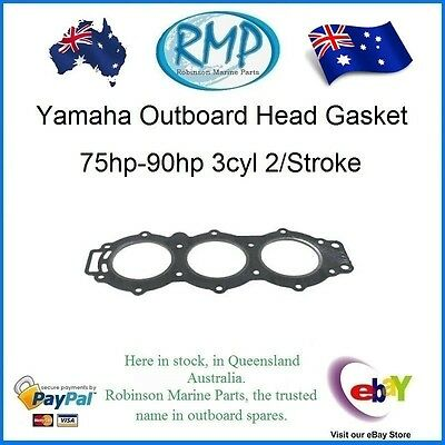 A Brand New Yamaha Outboard Head Gasket 75hp-90hp 3cyl 2/Stroke R 688-11181-02