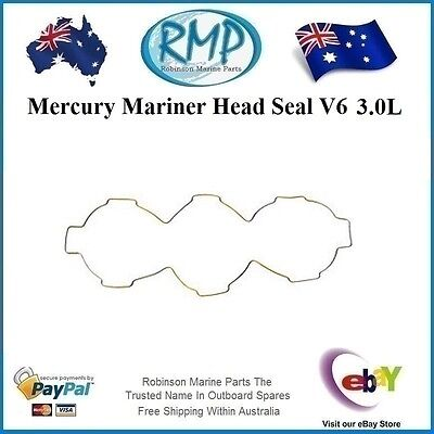 A Brand New Head Seal Suits Mercury Mariner Outboards V6 3.0L # 818574