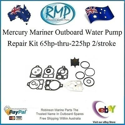 A Brand New Mercury Mariner Water Pump Kit 65hp-thru-225hp # R 39530 KIT