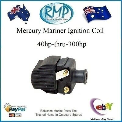 A Brand New Ignition Coil Suits Mercury Mariner 40hp-thru-300hp # R 339-7370A-13