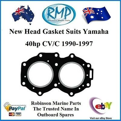 A Brand New Head Gasket Suits Yamaha 40hp CV/C 1990-1997 # R 676-11181-A1-00
