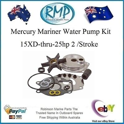 A Brand New Water Pump Kit Mercury Mariner 15XD-thru-25hp 2/stroke # 46-99157T2