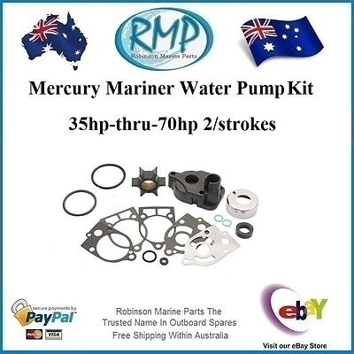 A Brand New Water Pump Kit Mercury Mariner 35hp-thru-70hp # R 46-60366A1