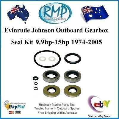 A Brand New Gearbox Seal Kit Evinrude Johnson 9.9hp-15hp 1974-Thru # 396350