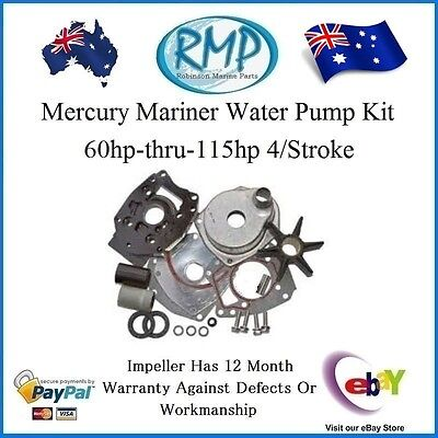 A Brand New Water Pump Kit Mercury Mariner 60hp-thru-115hp 4/Stroke 46-43024A7