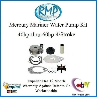 A Brand New Water Pump Mercury Mariner 40hp-thru-60hp 4/Stroke  # 46-812966A12