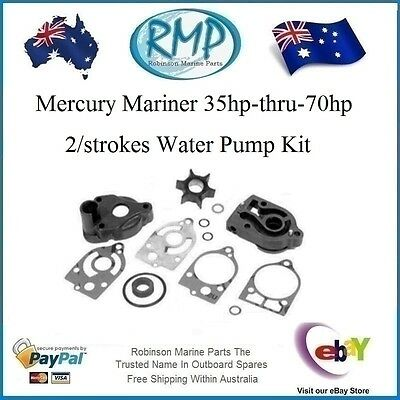 A Brand New RMP Mercury Mariner 35hp-thru-70 hp Water Pump Kit # 46-77177A3