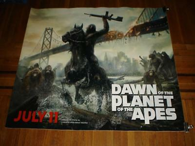 Dawn of the Planet of the Apes 5FT subway MOVIE POSTER Caesar 2014