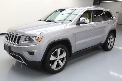 2014 Jeep Grand Cherokee Limited Sport Utility 4-Door 2014 JEEP GRAND CHEROKEE LIMITED SUNROOF NAV 20'S 46K #291023 Texas Direct Auto